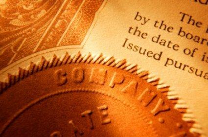 Certificats d'authenticite de copie d'un document